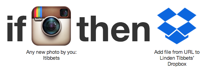 Receta de Instagram + Dropbox