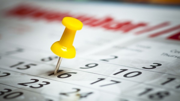 Marcas en el calendario