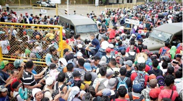 Ahí vienen los migrantes